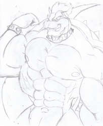 Lost Bowser sketch|by disneyishchimera