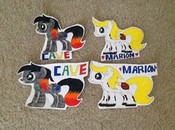 Cave and Marion MLP Badges|by Cave McMahon