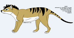 Anala Thylacine|by emeraldsolstice