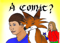 A Comic?|by coonotafoo
