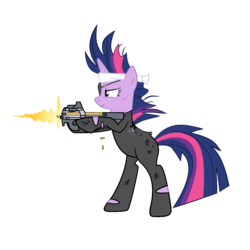 MLP:FiM Firepower is Magic - Future Twilight v2|by A1C havenofimage