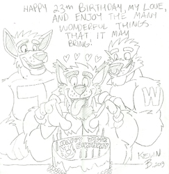 happy 23 birthday|by kiranking007