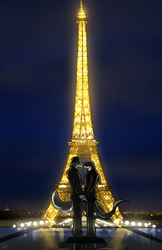 A Kiss In The City of Lights|by Perrin Wolfbrother
