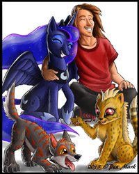 Luna Family ( Cover Pic for my story The Moon Need Friends Too|by Sindragon