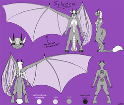 Ref Sheet for Suiginryuu|by IsaidRAWR