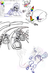 Sketch Dump WIP|by King Gigabyte