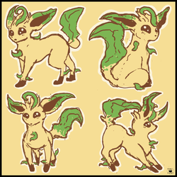 Leafeon|by NightlineZ