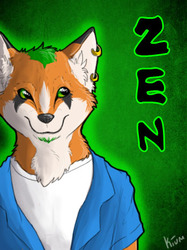 Zen badge by Kium|by _ZenFox_