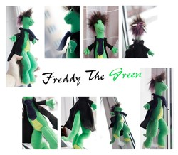 Sir Freddy The Green - Gentleman with tail (FOR SALE)|by Draconek