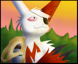 PokéPainting 02 #335 Zangoose|by Dexy16