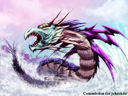 COM : Water Dragon|by WhiteGuardian