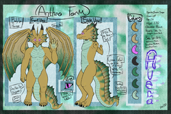 Arvea Anthro Sheet -edited version-|by cryoester