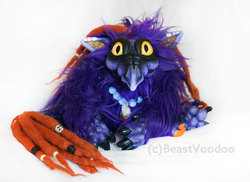 Midnight the baby dragon doll|by BeastVoodoo