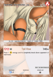 Femmy Arcanine Card|by Metal Renamon