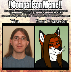 Comparison Meme|by Foxpiper