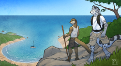Island Hike|by tsaiwolf