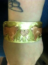 Hank Bracelet|by Lillywolfsbane