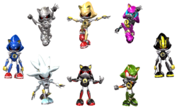 An Army of Metal Sonics (and others)|by SynjoDeonecros