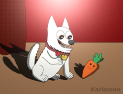 Bolt and Mr. Carrot|by Karlamon