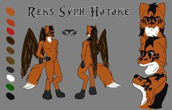 Reference Sheet|by Reks Syph Hatake