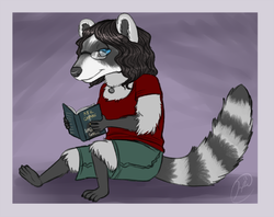 reading|by Floatthelemur