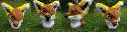 Fox head with hair|by Artslave