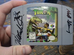 Turok signed|by valereth