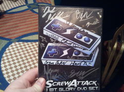 Signed Screw Attack DVD|by valereth