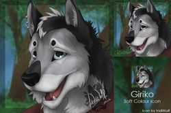 Giriko - Icon|by IndiWolf
