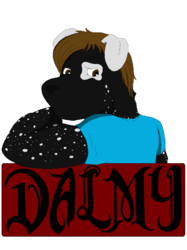 Badge for Anthrocon|by DalmyDog