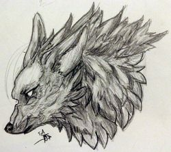 Wolf Sketch|by SinAmbrosius
