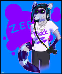 Gift Art - TotemCoyote to Zee|by PunkFoxDotCom