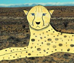 "the ""ugly"" cheetah