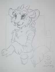 Sharley Sketchbook Art CesFur 2013|by Kana