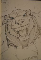Wolfynail Sketchbook Art CesFur 2013|by Kana