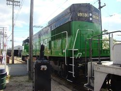 Burlington Northern 5383 - Illinois Railway Museum|by NSnowball