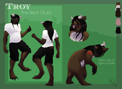 Updated ref sheet (clean)|by wowdruid