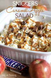 Snickers Caramel Apple Salad|by Eirene Crimsonpelt
