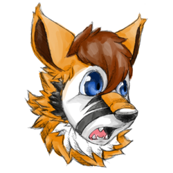 Headshot Commission From Aurakin!|by r3drunner