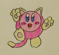 Cat Kirby!|by MKSfan14