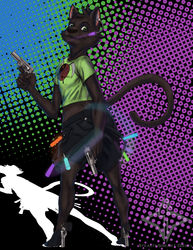 Xzepher Commission - Rave Kitty|by StealthSneak1 Diesel