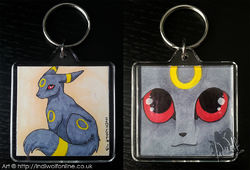 Umbreon Keyring - Sold|by IndiWolf