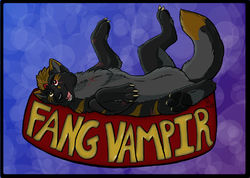Fang Vampir Badge|by Killerwolf1020