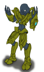 Elite in Protoss Armor