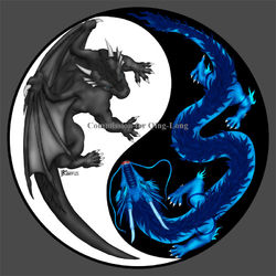 COM : Darklurker and Qing Long Badge|by WhiteGuardian