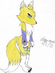 Renamon My Style|by PrincessAlyssaHybrid