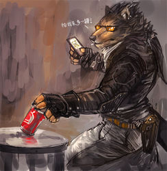 Biker Wolf Part01|by Cheetahpaws