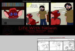 Life With Nelwin Reboot 03|by Charrio