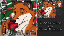 [CM - Amias Volpecula] Icon Commission|by Ceowolf