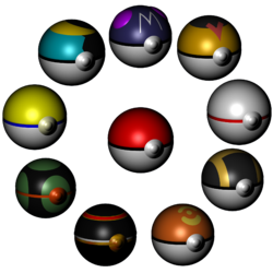 Pokeball Display|by Deviantmarshal